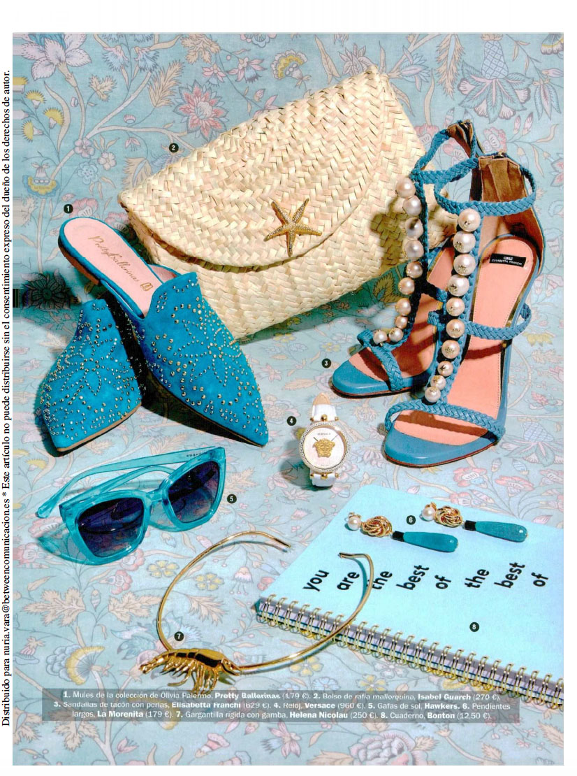 Llata Clutch de Isabel Guarch en Cosmopolitan Junio