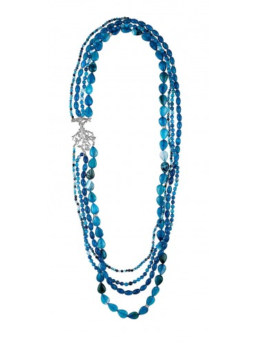 Collar Loop Formentor azul