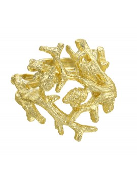 Gold Formentor ring