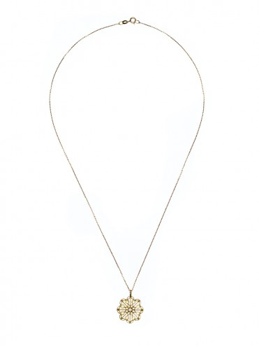 LLUM SMALL GOLD PENDANT
