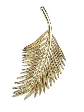 Sterling silver and gold pendant