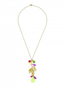 18 KTS GOLD PENDANT. WITH CHAIN