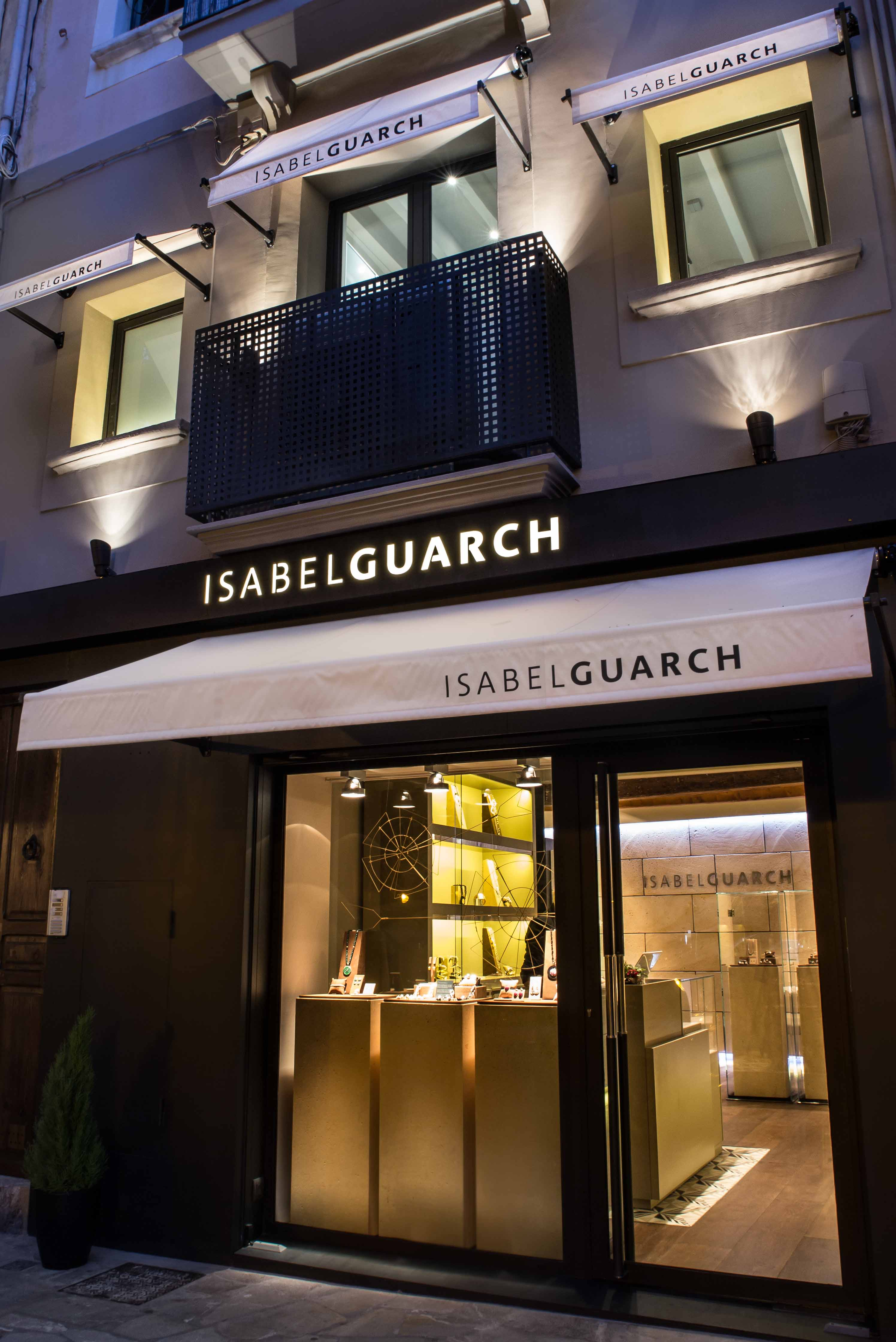 Nuevo atelier-boutique Isabel Guarch