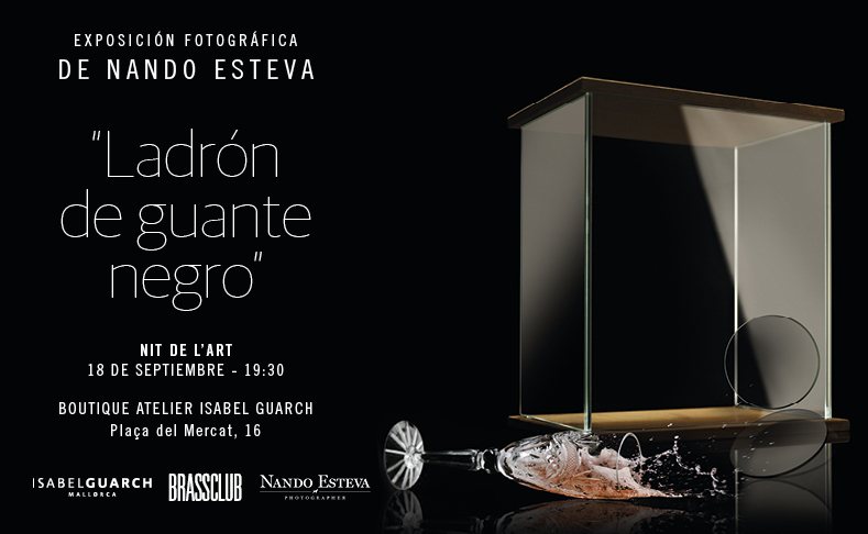 Photographic exhibition Ladrón de guante negro